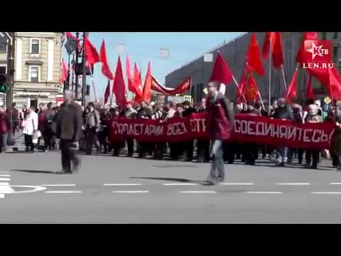 May Day 2016 in Russia (St. Petersburg)