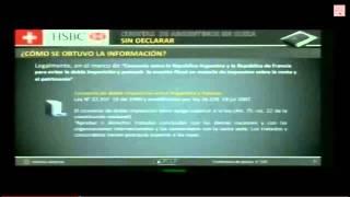ECHEGARAY DENUNCIA HSBC ARGENTINOS EVASORES E INTEGRANTES DE UNA ASOCIACIÓN FISCAL ILÍCITA