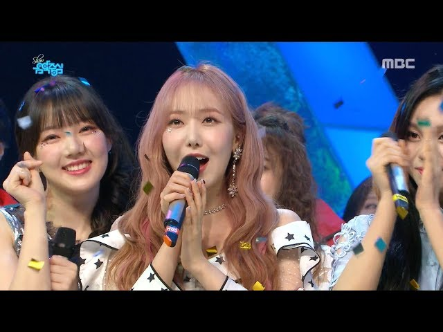 [HOT] 5월 3주차 1위 '여자친구 - 밤 (GFRIEND - Time for the moon night)' Show Music core 20180519