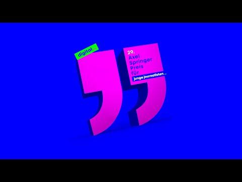 Axel Springer Preis 2020