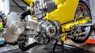 Honda World z50 c50 glx50 dax50 chaly50 TAKEGAWA Sifneos Paros MODIFYING GARAGE