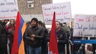 Ցուցարարները Բելառուսից պահանջում են ազատել Բաքվի պահանջով ձերբակալված բլոգերին