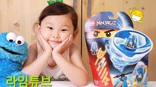 레고 고스트 닌자고 에어짓주 제이 70740 LEGO NINJAGO AIRJITZU JAY Unboxing & Review! Toys おもちゃ đồ chơi 라임튜브