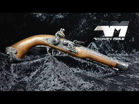 HFC 18TH CENTURY FLINTLOCK / Airsoft Unboxing Review