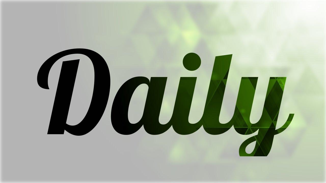 Significado De Daily Nombre Ingl & 233s Para Tu Bebe Ni & 241o O