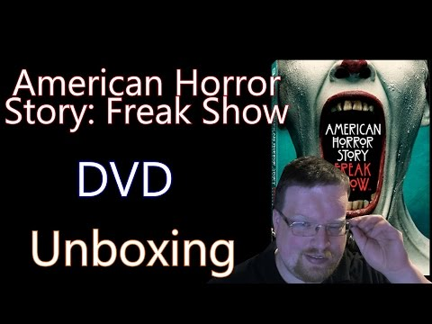 American Horror: Story Freak Show DVD Unboxing