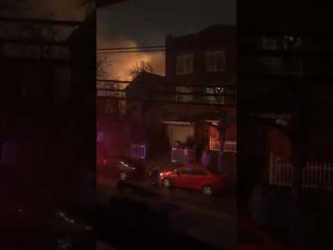 36 Displaced In Jersey City Fire