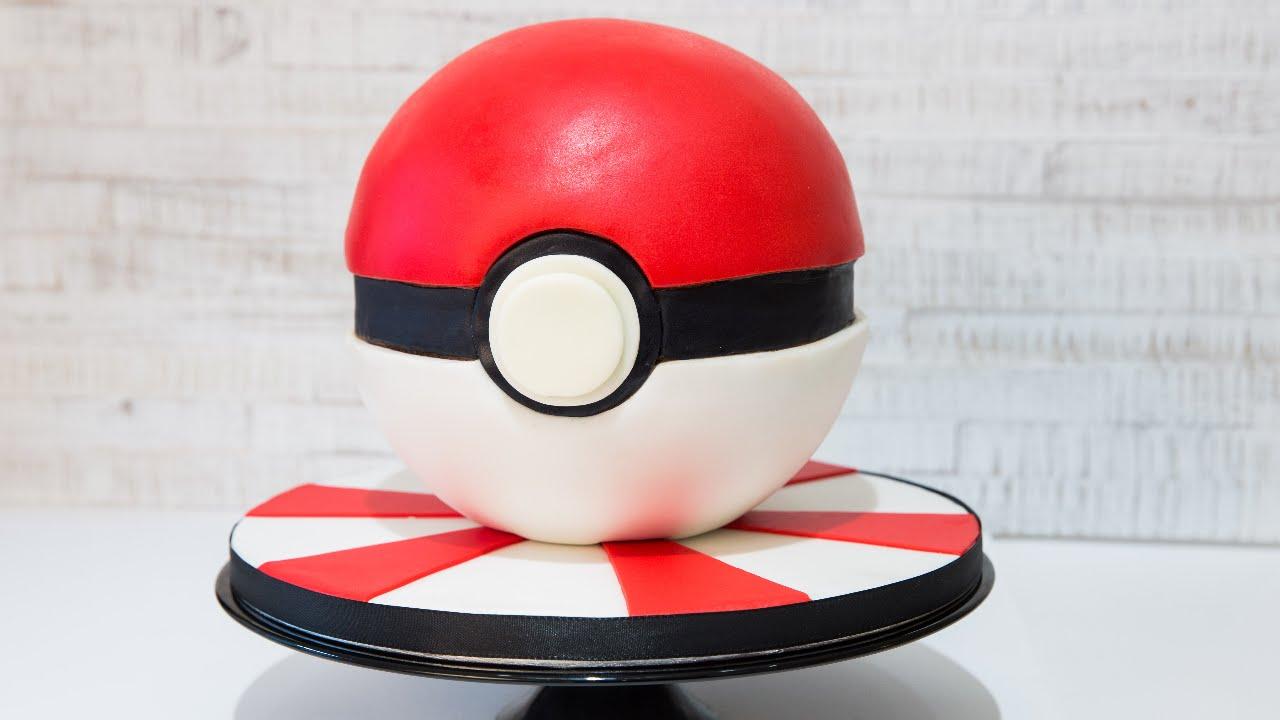 Pokmon Ball Cake Torte Leonors Sweet Creations