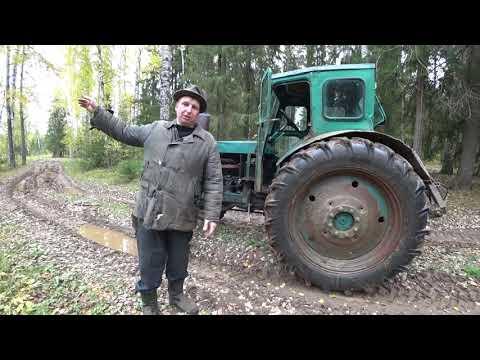 Он пытался, но не получилось. Трактор из СССР