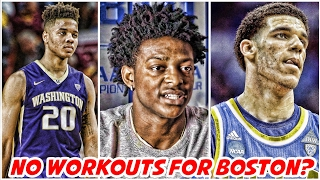 top nba draft prospects not working out for the celtics spurs vs warriors nba news highlights