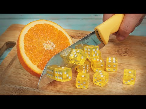 Stop Motion Cooking - How to make Fruit salad ASMR 4K Funny Animation
