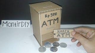 Cara Membuat Mesin ATM Mainan Dari Kardus