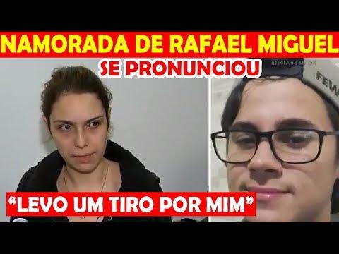 NAMORADA DE RAFAEL MIGUEL SE PRONUNCIA E O QUE DIZ CHOCA TODOS
