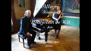 Marjolein de Wit flute, Reinecke - Allegro,