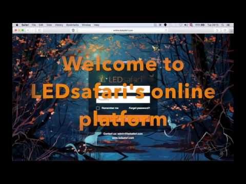 LEDdsafari Online Platform
