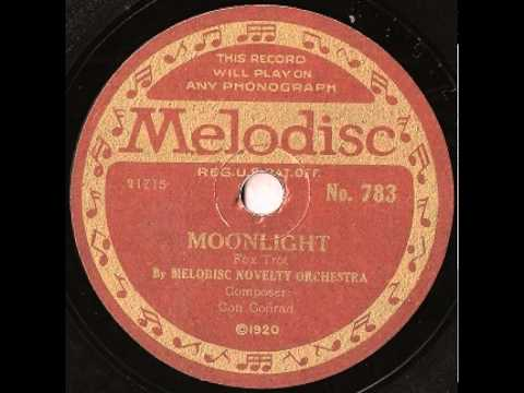 """""""Moonlight"""" - The Melodisc Novelty Orchestra (1920 Melodisc)"""
