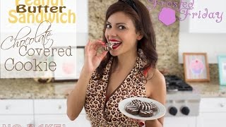Peanut Butter Sandwich Chocolate Covered Cookie [girl Scout Cookie Inspired (tagalongs)]