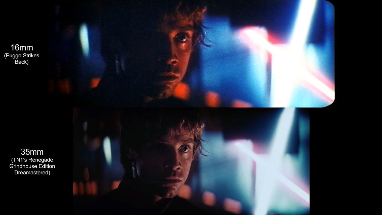 Luke vs Darth Vader | The Empire Strikes Back (1980) [Puggo Strikes Back,  Renegade]