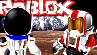 ON A MARKET ON THE MOON! Roblox