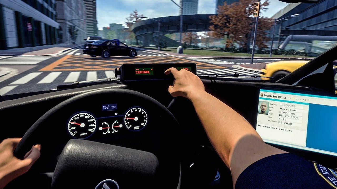 Police Simulator: Patrol Duty Trailer