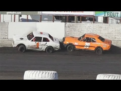 Mini Stock HEAT ONE & TWO  7-21-18 Petaluma Speedway
