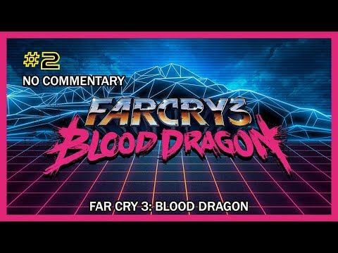 Far Cry 3: Blood Dragon - Ep. #1 (Sneaking Past Neon Dinosaurs) HD 1080p X360 No Com.