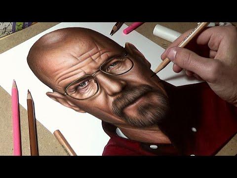 d95edf6de0fa0 Drawing Walter White – Breaking Bad