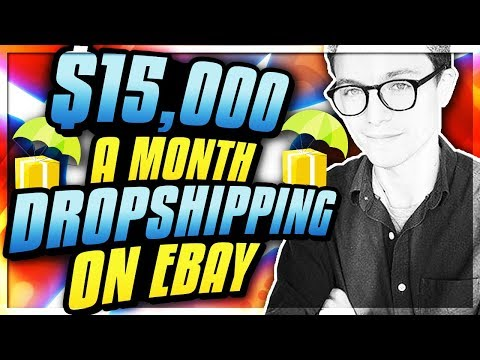 How Paul Makes $15,000 a Month PROFIT Part-Time Drop Shipping On Ebay