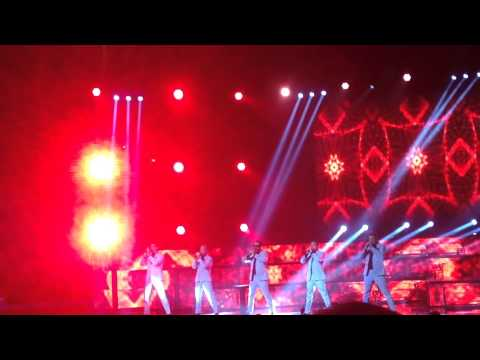 The Backstreet Boys at the Chesapeake Energy Arena 6-6-2014