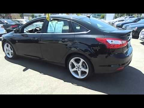 2012 Ford Focus Titanium Sedan 4d Los Angeles Ca 420533