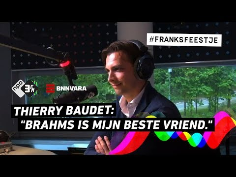 Klassieke muziek luisteren met Thierry Baudet | Franks Feestje | 3FM Gemist