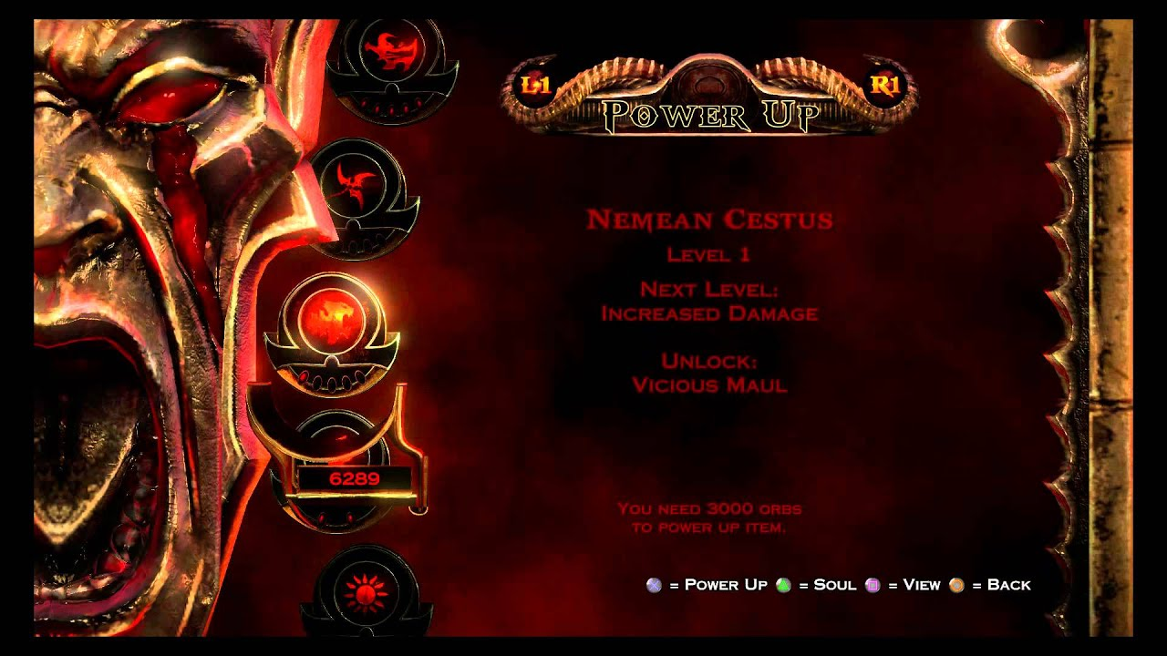 god of war 3 remastered max out hermes boots bow of