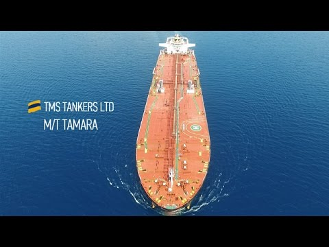 Crude Oil Tanker - Filmed by Alex Tsampas