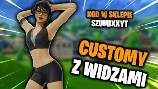"🌟 CUSTOMY with VIEWERS! 🌟 in FORTNITE! 🌟 GIVEAWAYE! 🌟 STORE CODE: ""SZUMIXXYT"" 👑 #CUSTOMY #LIVE #Fortnite"