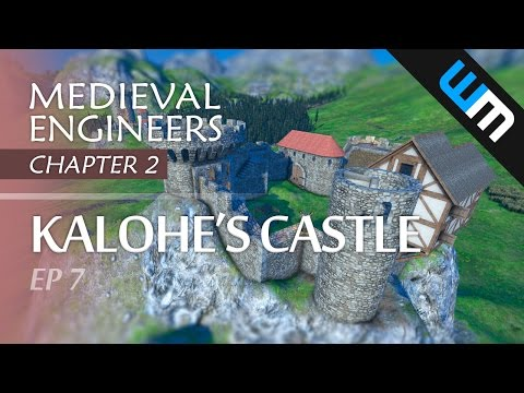 Medieval Engineers, Multiplayer Survival Gameplay - Kalohe's Castle, Ep 7 (CH2)