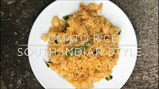 Tomato Rice South Indian Style
