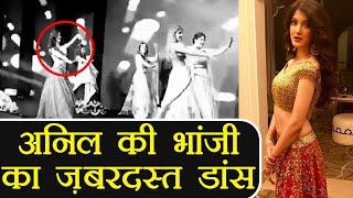 Sonam Kapoor's cousin Shanaya Kapoor's DANCE in Mohit Marwah's Wedding ; Watch Video | FilmiBeat