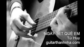 NGÀY TẾT QUÊ EM - Guitar Solo