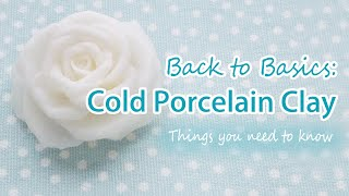 Back To Basics: Cold Porcelain Clay - Things You Should Know