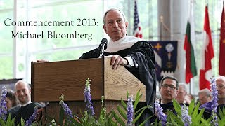 Kenyon College: Michael Bloomberg Commencement Address 2013