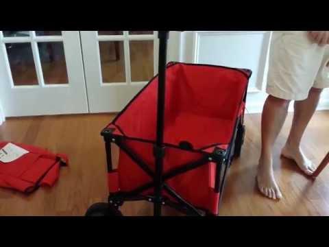 Folding wagons: Mac versus Ozark Trail