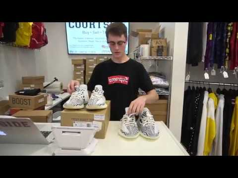 8f3f37239 2018 YEEZY 350 ZEBRA RESTOCK IS DIFFERENT ! COMPARISON - YouTube