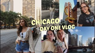 Chicago Travel Vlog Day One | Road Tripping, Deep Dish Pizza & Insta Photos!