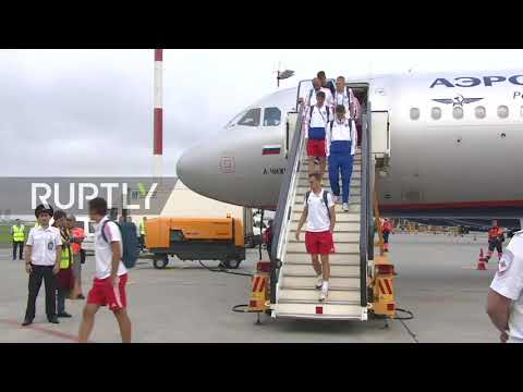 Russia: Russian squad back to Moscow as WC journey comes to