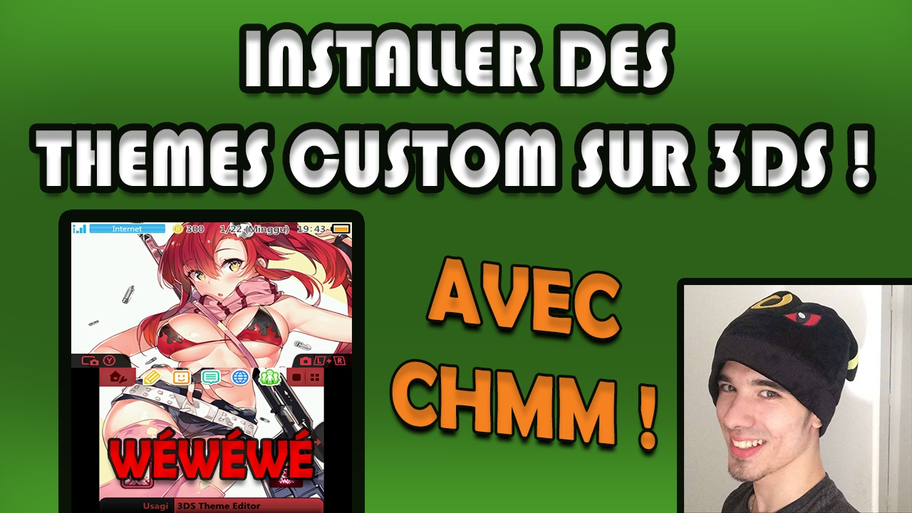 installer des themes custom sur 3ds youtube. Black Bedroom Furniture Sets. Home Design Ideas