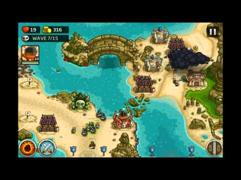 Kingdom Rush Rising Tides - The Sunken Citadel - 3 Stars