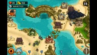Kingdom Rush Rising Tides - The Sunken Citadel - 3 Stars