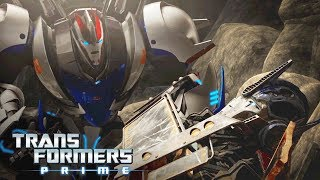 'Smokescreen's Rescue Story' Official Clip | Transformers Prime Season 3