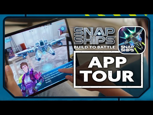 Tour the Snap Ships App with Inventor Scott