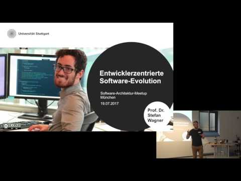 SWA-MUC 19.7.2017: Entwicklerzentrierte Software-Evolution